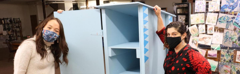little free pantry volunteers